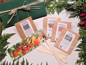 Weihnachts-Geschenkset für Hobbygärtner, Cocktailtomaten Set Einzelprodukte