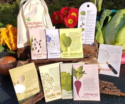 Saatgutset 7 alte Gemüsesorten samenfest