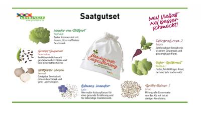 Samenset Wachsende Begeisterung alte Gemüsesorten